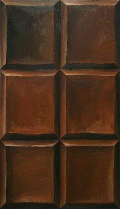 "Viktor Kopp: ""Chocolate"", 2009, Oil on Canvas."