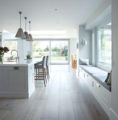 Window Seating | Kitchen Window Seating | Natural Lighting