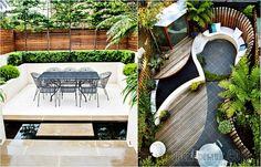 17 замечательных идей по обустройству внутреннего дворика