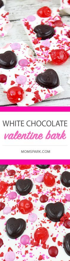 White Chocolate Spoons for Valentine\'s Day | Recipe | White ...