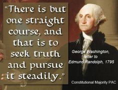 Seek truth and pursue it steadily