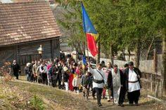 REPORTAJ Harghita: Gest de solidaritate în ziua de Florii cu românii din satul Doboi, aflați în minoritate – AGERPRES