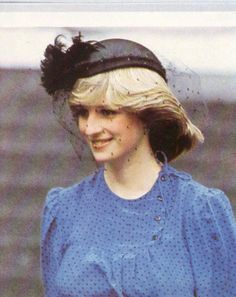 Diana at the Thanksgiving Service celebrating the end of the Falklands War 1982
