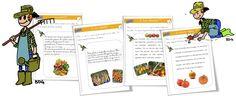Rallye-copie légumes !!!! CP-CE1 - Bout de gomme