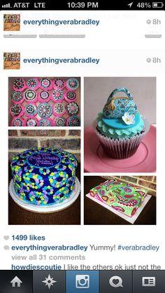 More Vera Bradley cakes