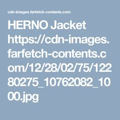 HERNO Jacket  https://cdn-images.farfetch-contents.com/12/28/02/75/12280275_10762082_1000.jpg