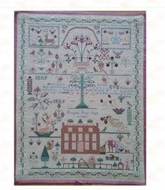 Margaret Hugh #crossstitch #crafts