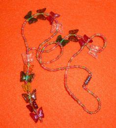 Pretty Senorita Butterflies Necklace