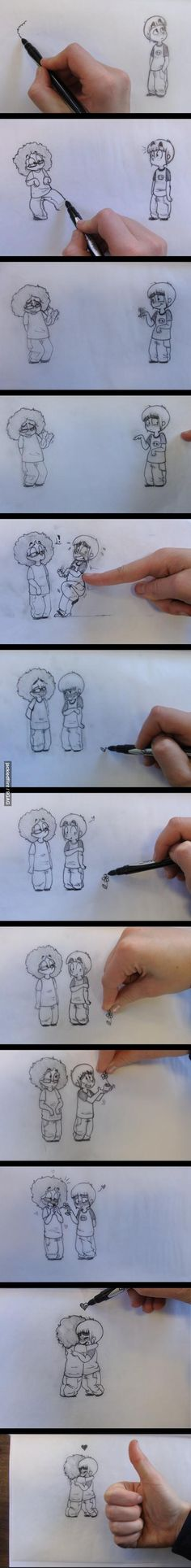 That is the cutest thing....