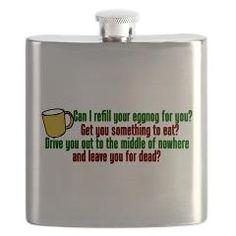 Funny Christmas Vacation Flask