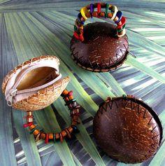 Coconut Coin Purse Bracelet