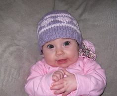 Baby Heart Hat 100 Cotton by APBKnits on Etsy, $14.00