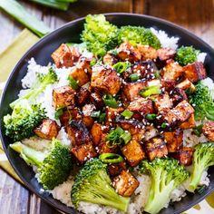 Crispy Asian Garlic Tofu