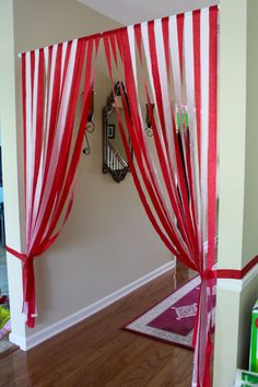 The Grand Entrance to the Big Top Party! | {My Life Space Moments}