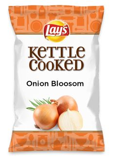 Wouldn't Onion Bloosom be yummy as a chip? Lay's Do Us A Flavor is back, and the search is on for the yummiest chip idea. Create one using your favorite flavors from around the country and you could win $1 million! https://www.dousaflavor.com See Rules.