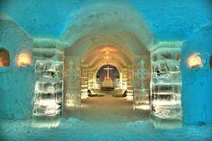 Chapel at Sorrisniva Igloo Ice Hotel ~ Alta, Norway
