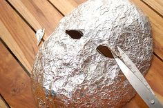 11 Tips on How to Make a Mask out of Tin Foil and Tape - wikiHow