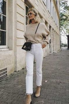 Chic Winter Outfits, Casual Fall Outfits, Trendy Outfits, Autumn Outfits Women, Autumn Dresses, Spring Outfits, Beige Outfit, Neutral Outfit, Neutral Style