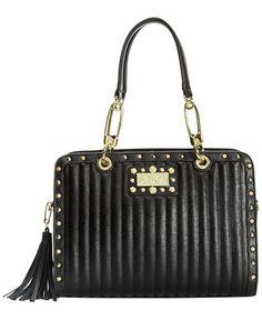 Betsey Johnson Pretty in Punk Satchel - All Handbags - Handbags & Accessories - Macy's