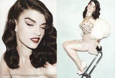 Crystal Renn in Muse Magazine.