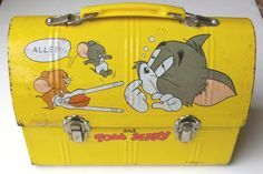 Antique Tom and Jerry Lunch Box.