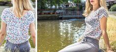 Trop-Top : un petit haut fleuri pour cet été - Ivanne S - BRIZANE Trop Top, Couture, Blouse, Tops, Women, Fashion, Floral, Paper Pieced Patterns, Lace