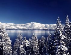 Lake Tahoe winter