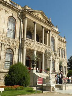 Dolmabahçe Sarayı, Beşiktaşz, Istambul, Istanbul, Turquia, Turkey, Turkije, city, cidade, arquitetura, architecture, palace, palácio