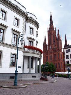 Wiesbaden na Alemanha - Passeio pelos principais pontos turísticos