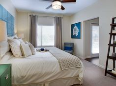 Spacious Model Apartment Bedroom At AMLI Ponce Park, Brand New Apartments  In Historic Old Fourth