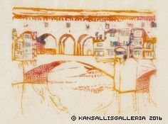Kansallisgalleria - Taidekokoelmat - Herman ja Elisabeth Hallonbladin taidekokoelma Scandinavia House, Wood Engraving, Art Museum, Taj Mahal, Vintage World Maps, Action, Gallery, Artwork, Museum