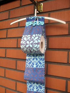 Sokkiksen räpellykset: Long time  Toilet paper holder, diy, Marimekko Marimekko, Toilet Paper, Towel, Diy, Inspiration, Biblical Inspiration, Bricolage, Towels, Diys