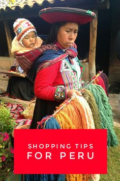 How to shop for Peru souvenirs.