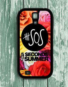 5 Second Of Summer Flower Roses Samsung Galaxy S4   Samsung S4 Case