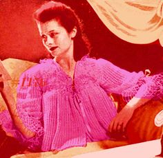 Almost FREE Vintage Paulettes Lace Jacket 1176 PDF Digital