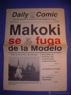 PERIÓDICO DAILY COMIC Nº 0. EXPOSICIÓN PERIODISTAS EN EL COMIC. MAKOKI SE FUGA. FICOMIC 1989 - Foto 1