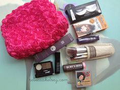Click to see how you can enter a giveaway to win rebeccakelsey.com's fav makeup products.