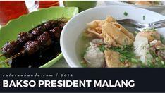 Menikmati bakso president Malang di pinggir rel kereta api. #catatanbunda #baksomalang #baksopresident #kuliner #wisatakuliner #kulinermalang