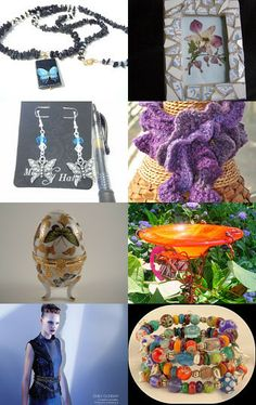 Butterfly Garden by Jenny LK Doughty on Etsy--Pinned with TreasuryPin.com