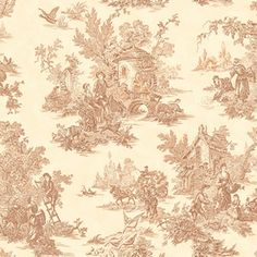 allen + roth Brown Strippable Non-Woven Prepasted Classic Wallpaper