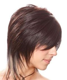 Medium Hairstyle - Straight Alternative - | TheHairStyler.com
