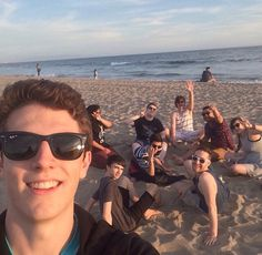 Squad at the beach