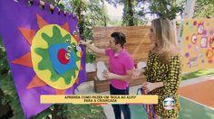 É de Casa   Peter Paiva ensina a fazer um 'bola ao alvo'   Globo Play