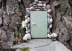 Use natural elements and simple craft materials to make a fairy garden >> http://www.diynetwork.com/made-and-remade/make-it/fabulous-diy-ideas-for-a-fun-fairy-garden?soc=pinterest