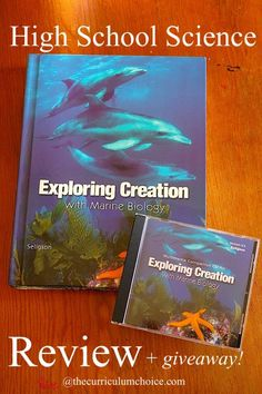 Apologia Exploring Creation with Marine Biology Review #Apologia #homeschool @Apologia #marinebiology