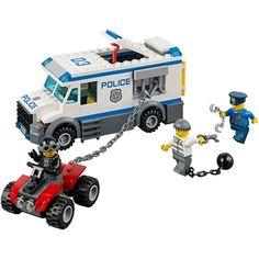 BELA City Police Prisoner Transporter Building Blocks Classic For Girl Boy Kids Model Toys Marvel Compatible with lego 60043 Legos, Lego City Sets, Lego City Police, Building Blocks Toys, Lego Toys, Buy Lego, Marvel, Transporter, Lego Friends