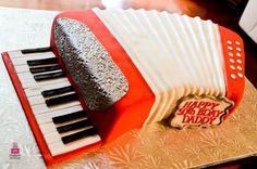 Resultado de imagen para acordeon cake