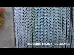 Cortina con anillas de latas abre facil pinterest for Anillas de cortinas