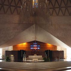 St. Mary's Cathedral by Pier Luigi Nervi, Pietro Belluschi