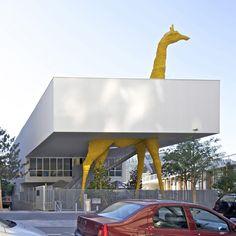 Giraffe Childcare Centre by Hondelatte Laporte Architectes